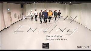 Choreography Video SEVENTEEN - Happy Ending