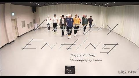 Choreography Video SEVENTEEN - Happy Ending