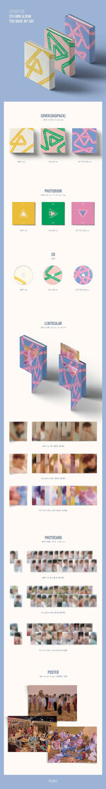 SEVENTEEN 5TH MINI ALBUM 'YOU MAKE MY DAY' 3 VERSION