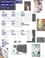 Director's schedule