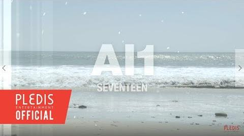 SPECIAL VIDEO SEVENTEEN 4th Mini Album 'Al1' JACKET BEHIND SCENE PART