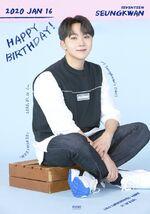 20200116 Happy SeungKwan's Day