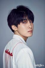 Wonwoo Singles Magazine May