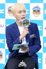 ISAC 2018 MC Seungkwan