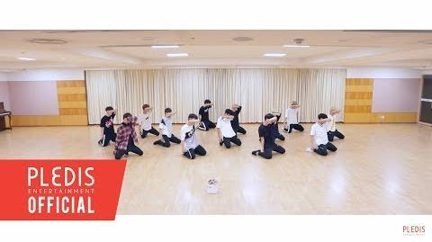-Choreography Video- SEVENTEEN(세븐틴)-울고 싶지 않아(Don't Wanna Cry) Front Ver
