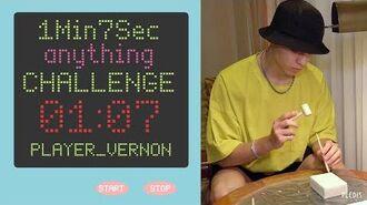 1Min7Sec CHALLENGE 버논의 척척박사 (Vernon's Dr. Genius)