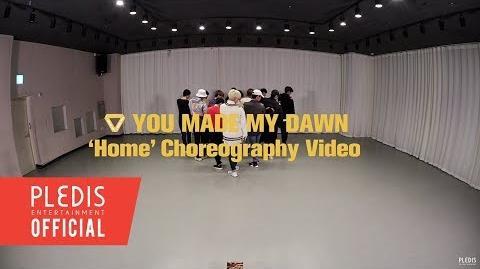 Choreography Video SEVENTEEN(세븐틴) - Home