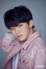 Woozi Singles Magazine May