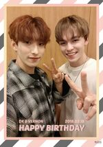 20180218 Happy DK&VERNON's Day