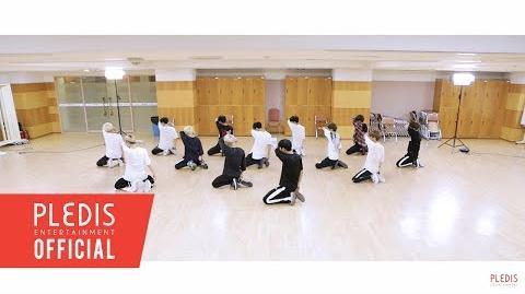 -Choreography Video- SEVENTEEN(세븐틴)-울고 싶지 않아(Don't Wanna Cry) Rearview Ver.