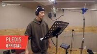 INSIDE SEVENTEEN SEVENTEEN 'SWEETEST THING' (Chocolate OST) Recording Behind