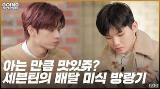 GOING SEVENTEEN 2020 EP.14 딜리버리 푸드 파이터 上 (Delivery Food Fighter 1)