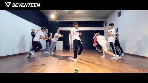 -Dance Practice- SEVENTEEN(세븐틴) - '아낀다(Adore U) - 'Fixed Cam' Ver.