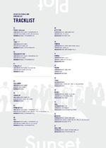 Director's Cut tracklists