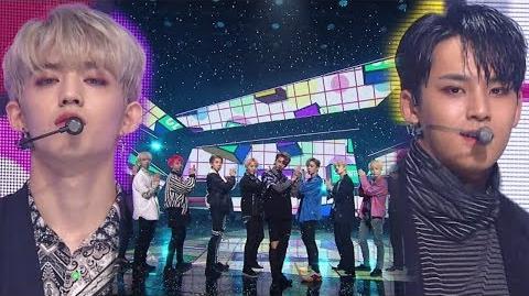《POWERFUL》 SEVENTEEN(세븐틴) - CLAP(박수) @인기가요 Inkigayo 20171126