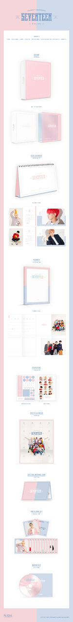 SEVENTEEN 2018 Season's Greeting Produce Details