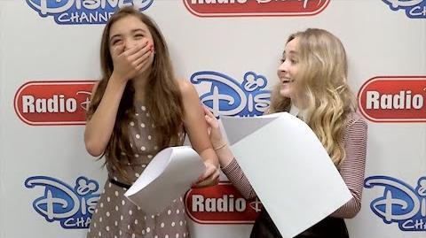Rowan Blanchard and Sabrina Carpenter Girl Meets World Switch Up