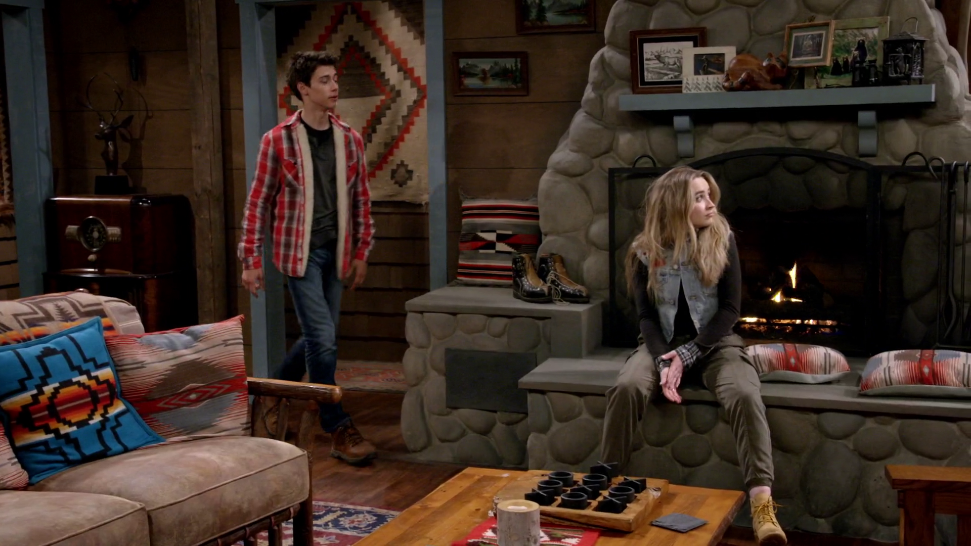 lucas world of furniture. Josh Walks In As Lucas Leaves (Mount Sun Lodge - 3x09).png World Of Furniture E