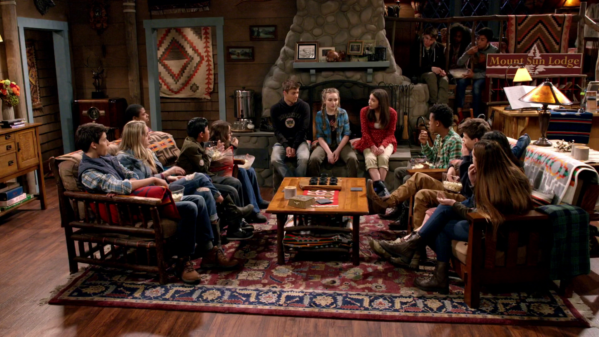Girl Meets World Script Ski Lodge
