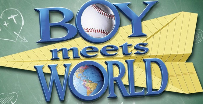 Image result for boy meets world logo