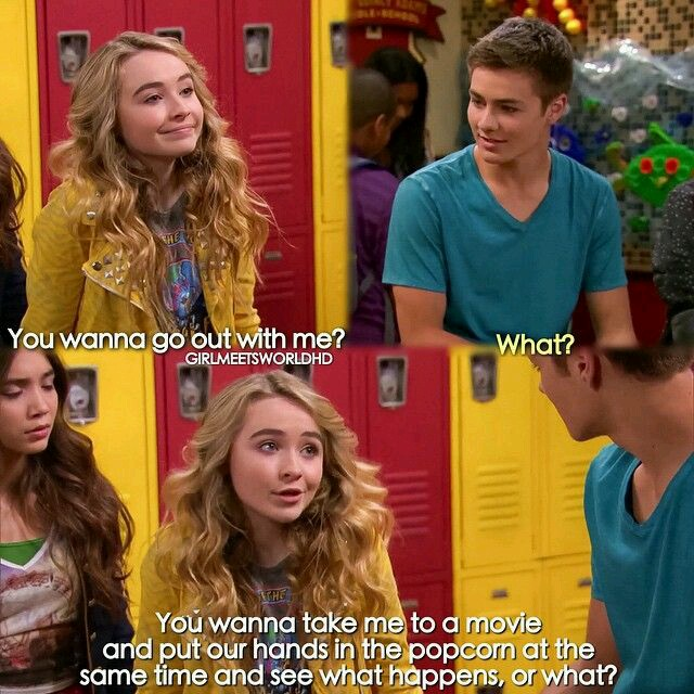 Is riley and lucas from girl meets world dating in real life