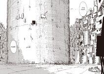 Girls Last Tour tower manga