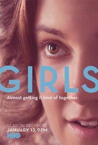 Girls season 2 poster
