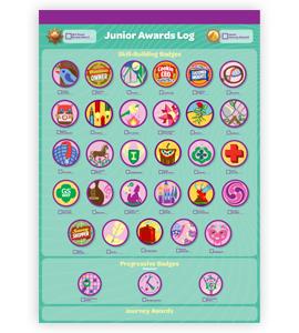 Junior badges girl scout wiki fandom powered by wikia junior badges girl scout solutioingenieria Images