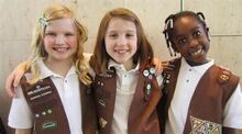 Brownie Girl Scouts-1