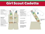 Girl Scout Cadette