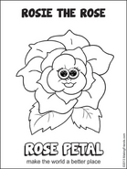 Daisy-gs-colorpage-rosepetal