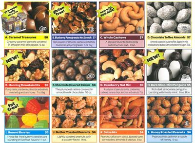 Nut products small