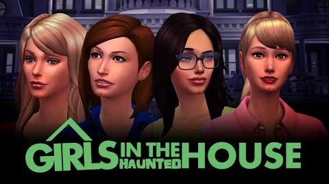 Girls In The Haunted House