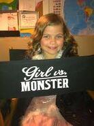 Genea in Girl vs. Monster