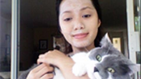 Kitty Litter Facial Mask Deep Cleansing