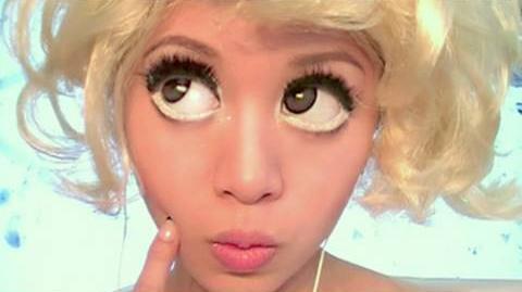 Lady Gaga Bad Romance Look