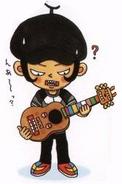 U-1 with Guitar