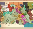 List of Tellurian Regions