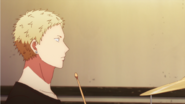Akihiko thinking Oh my when Ritsuka started playing Ep1