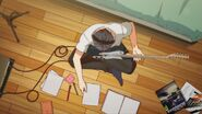 Ritsuka preparing for a song