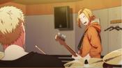 Haruki sends a sign to Akihiko Ep1