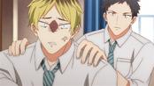 Hiiragi being held back by Yagi (33)