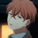 Mafuyu looking at Ritsuka from staring into space