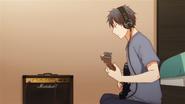 Ritsuka practising the guitar (24)