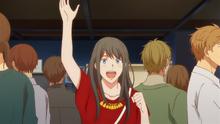 Yayoi catching Akihiko's attention (92)