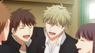 Yuki laughing together with his class mates (50)