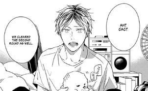 Chapter 16 page 18 Hiiragi holding Kedama