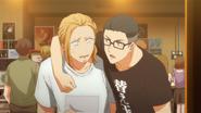 Haruki speaking with Yatake (104)