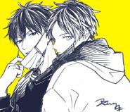 Ritsuka and Hiiragi by Kizu