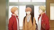 Mafuyu asking Ryuu if Ritsuka is here
